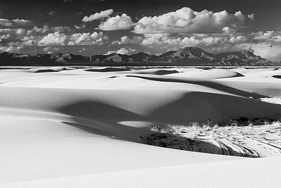 White Sands Afternoon Poster