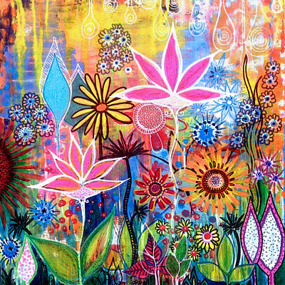 Wild Garden Poster by Robin Mead