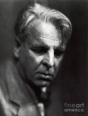 William Butler Yeats Poster by Photo Researchers