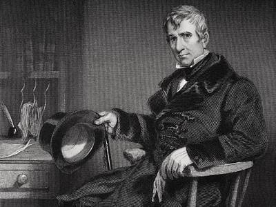 William Henry Harrison 1773 To 1841 Poster