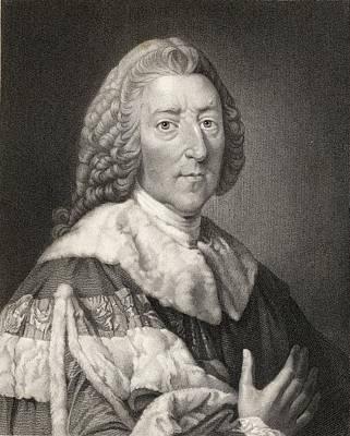William Pitt The Elder 1st. Earl Of Poster by Vintage Design Pics