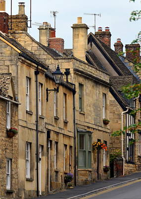 Winchcombe Street Scene Poster by Carla Parris