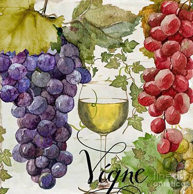 Wines Of Paris II Poster