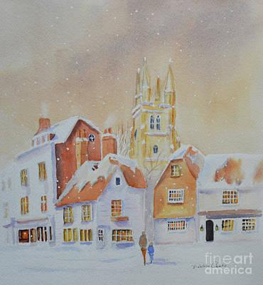 Winter In Tenterden Poster