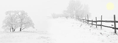Winter Landscape - Let It Snow Poster by Celestial Images