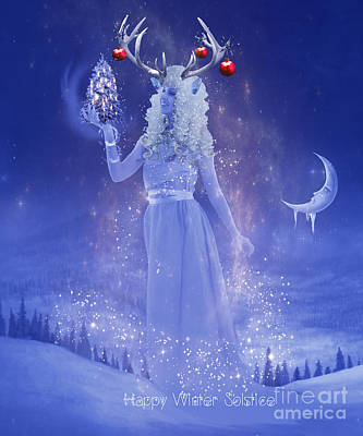 Winter Queen Poster by Juli Scalzi