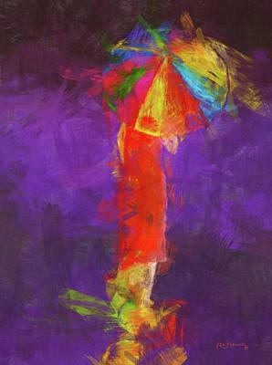 Women In Color Poster by Ken Figurski