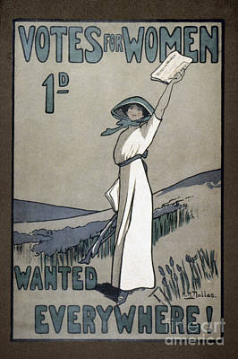 Womens Rights Poster by Granger