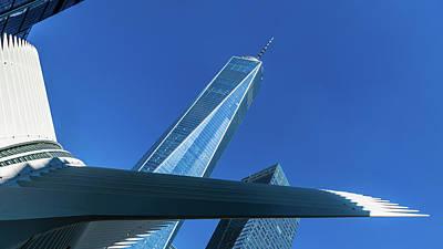 World Trade Center Poster by Ivan Santiago