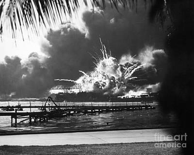 World War II: Pearl Harbor Poster by Granger