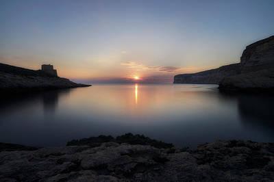 Xlendi Bay - Gozo Poster by Joana Kruse
