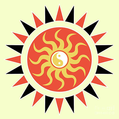 Yin Yang Sunshine Poster