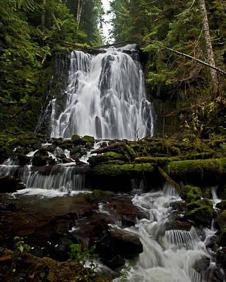 Yocum Falls Oregon Poster by Ulrich Burkhalter