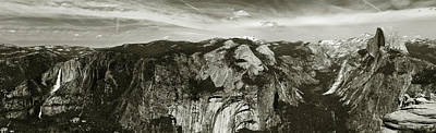 Poster featuring the photograph Yosemite National Park  by John Hix