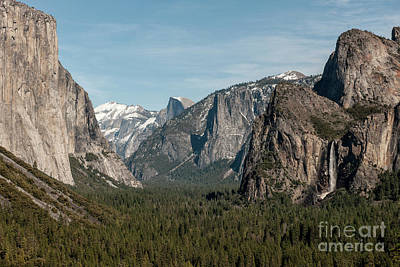 Poster featuring the photograph Yosemite Valley Afternoon by Sandra Bronstein