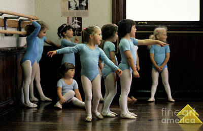 Young Ballet Dancers  Poster