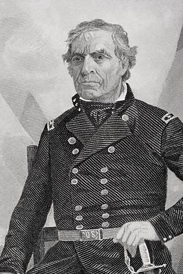 Zachary Taylor 1784 To 1850. 12th Poster