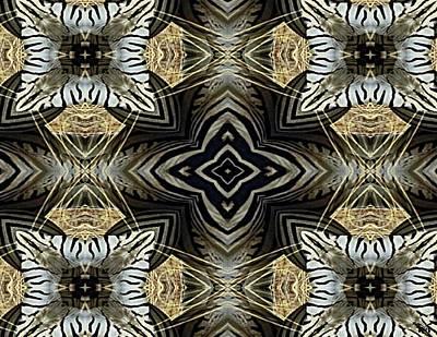 Zebra V Poster by Maria Watt