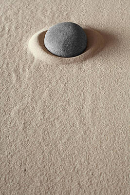 Zen Meditation Stone Poster by Dirk Ercken