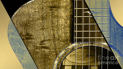 Acoustic Guitar Collection Poster