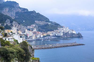 Amalfi - Amalfi Coast Poster by Joana Kruse