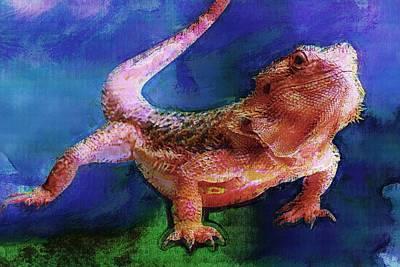 Amphibian Poster by Elena Kosvincheva