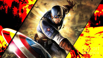 Captain America Collection Poster