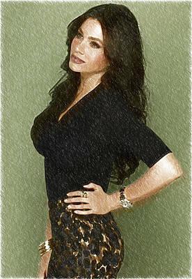 Celebrity Sofia Vergara  Poster