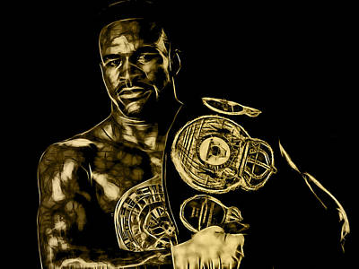 Evander Holyfield Collection Poster