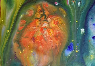 Fluid Acrylic Paint Poster