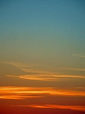 Huron Skies Poster
