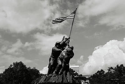 Iwo Jima Washington Dc Poster by Brandon Bourdages