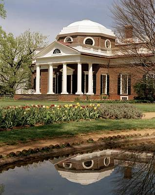 Monticello, The Home Built By Thomas Poster