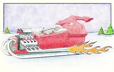 10 Sec. Santa Poster by Danny L