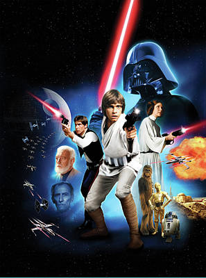 Star Wars Episode Iv - A New Hope 1977 Poster