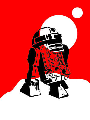 Star Wars R2-d2 Collection Poster by Marvin Blaine