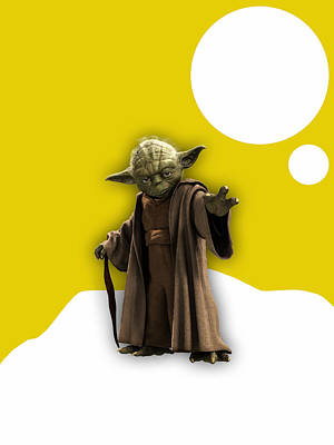 Star Wars Yoda Collection Poster