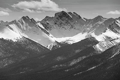 Poster featuring the photograph The Rockies by Josef Pittner