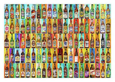 100 Bottles Of Beers Poster