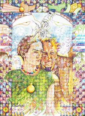 10000 Caras Son Uno Poster by Doug Johnson