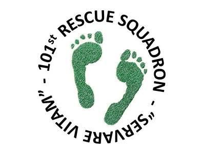 101st Rescue Squadron Poster by Julio Lopez