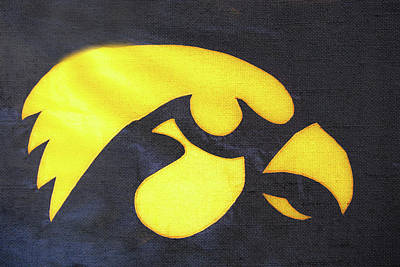 10724  Iowa Hawkeye Poster