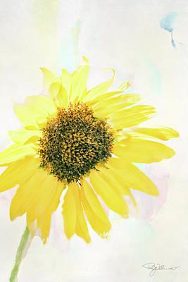 10845 Sunflower Poster by Pamela Williams