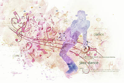 10849 All That Jazz Poster by Pamela Williams