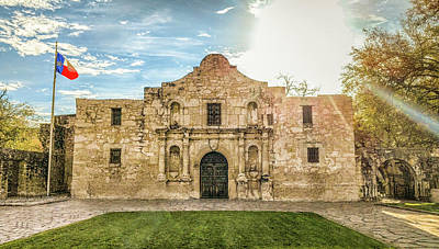 10862 The Alamo Poster by Pamela Williams