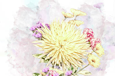 10865 Spring Bouquet Poster