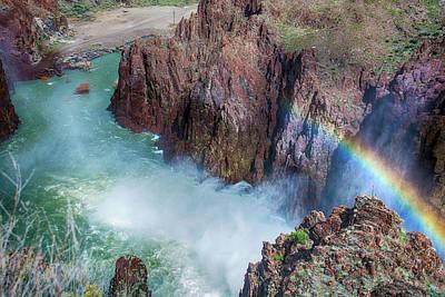 10883 Rainbow Over Owyhee Poster