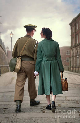 1940s Couple Poster