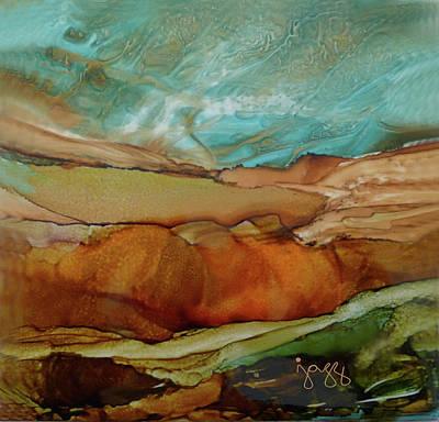 11-b Landscape Poster by Jazz Art