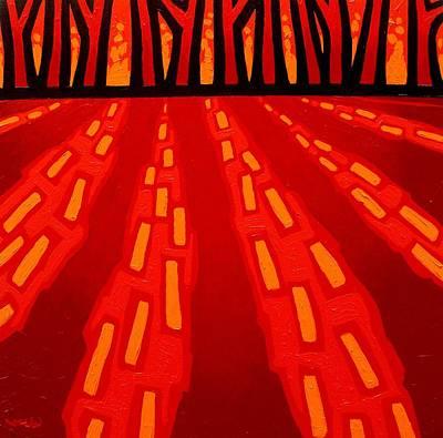 11 Cadmium Trees Poster